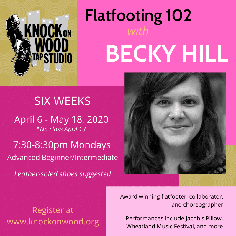 Flatfooting with Becky Hill
