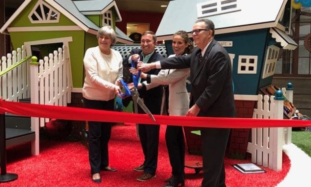 Ellsworth Place Opens Reconstructed Indoor Playground