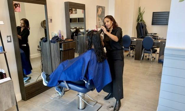 Salon Moves from Georgia Avenue to Bonifant Location
