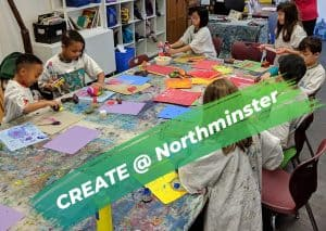 Summer Art Camp with CREATE @ Northminster