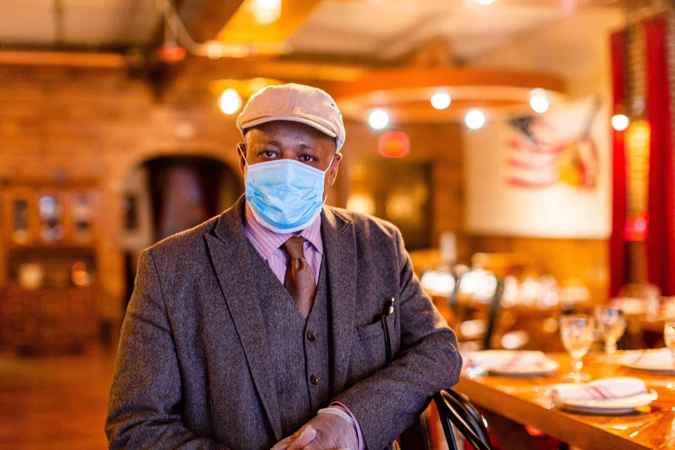 Life in the Time of the Coronavirus: Voices from Silver Spring—Zed MeKonnen, Zed's Café, Silver Strings