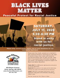 Black Lives Matter: Peaceful Protest for Racial Justice