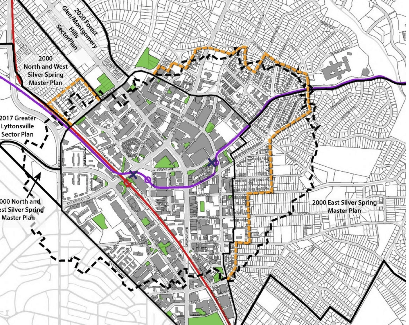 "Planners to Hold Virtual Listening Sessions on Downtown, Adjacent Communities Plan - The county's Planning Department will hold the first of three virtual ""listening sessions"" on what's been rechristened the Silver Spring Downtown and Adjacent Communities Plan on Tuesday, July 21 from noon to 1:15 p.m. The discussion is part of the launch of the sector plan process for the Central Business District and surrounding area."