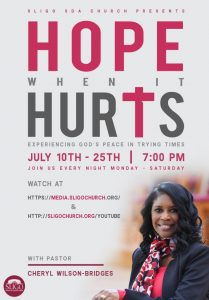 Hope When it Hurts: Experiencing God's Peace in Trying Times (Virtual)