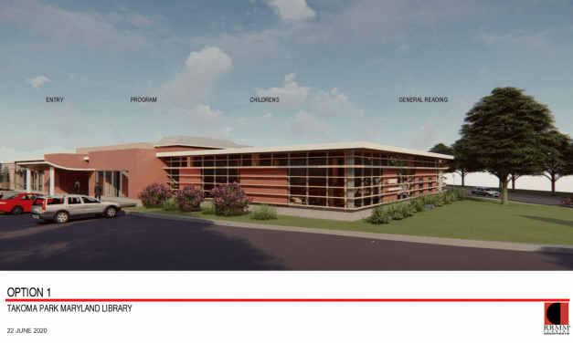 Takoma Park Seeks Citizen Preferences for Library Exterior Design