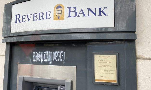 Silver Spring Branch of Revere Bank Will Close Aug. 14
