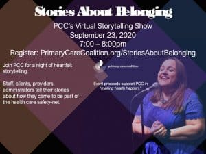 PCC's Second Annual Storytelling Show: Stories About Belonging