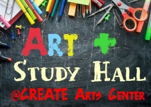 Events - Art + Study Hall is a weekly daytime program designed to provide parents with a flexible and safe option for the days when their children are engaging in distance learning and parents must return to work.