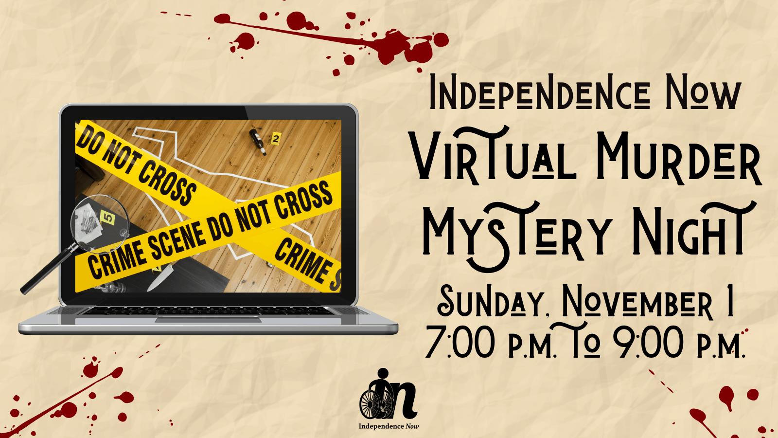 Virtual Murder Mystery Night
