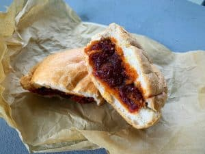 Kitfo Sandwich Featured in Washington City Paper's 12 Favorite Fall Sandwiches - Kitfo is fairly common among the many Ethiopian restaurants in Silver Spring — but a Kitfo Sandwich? Not so much, unless you visit Langano Restaurant or Lemon Slice Café.